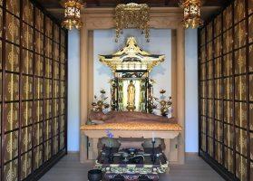 平成25年5月建立。骨壺ごと納める個々のロッカー式永代供養納骨堂です。涅槃像が祀られている為、涅槃堂といいます。 ※詳細はお問い合わせ下さい。